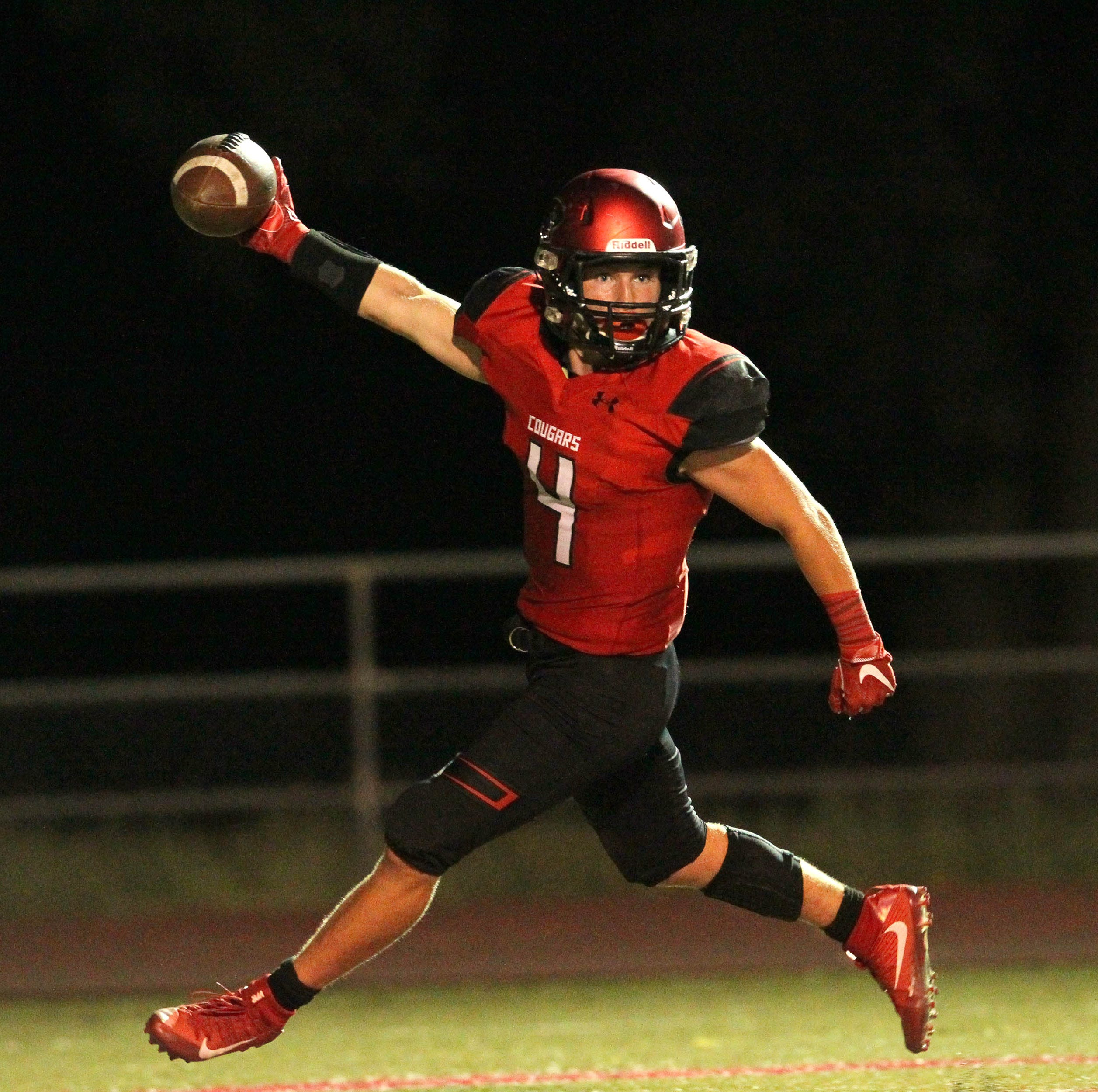 Football roundup: Foothill's come-from-behind win and other scores from the Redding area