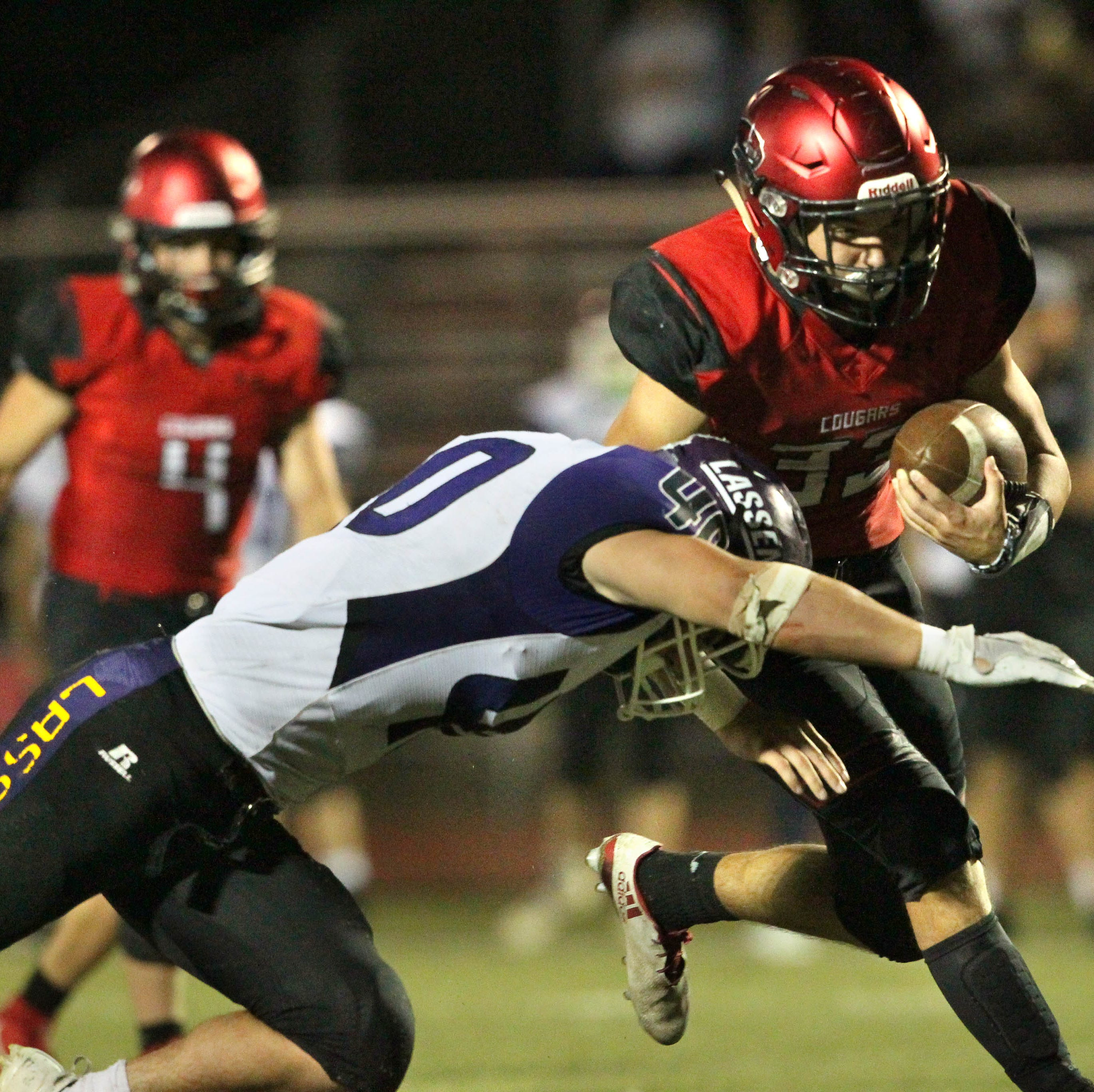 Photos: Foothill Cougars come from behind to beat Lassen, 31-28