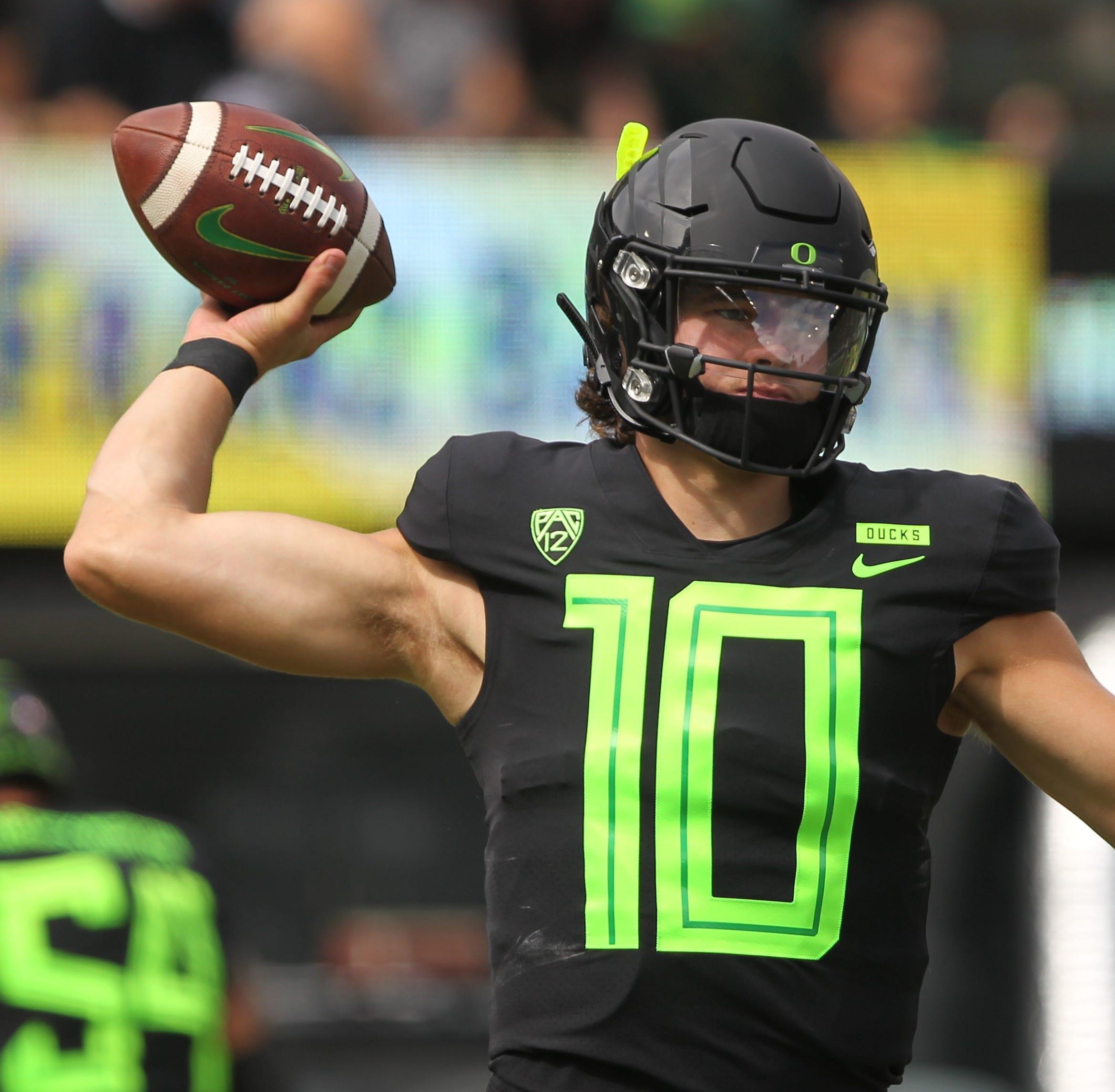 Oregon Ducks hold off San Jose State to remain unbeaten