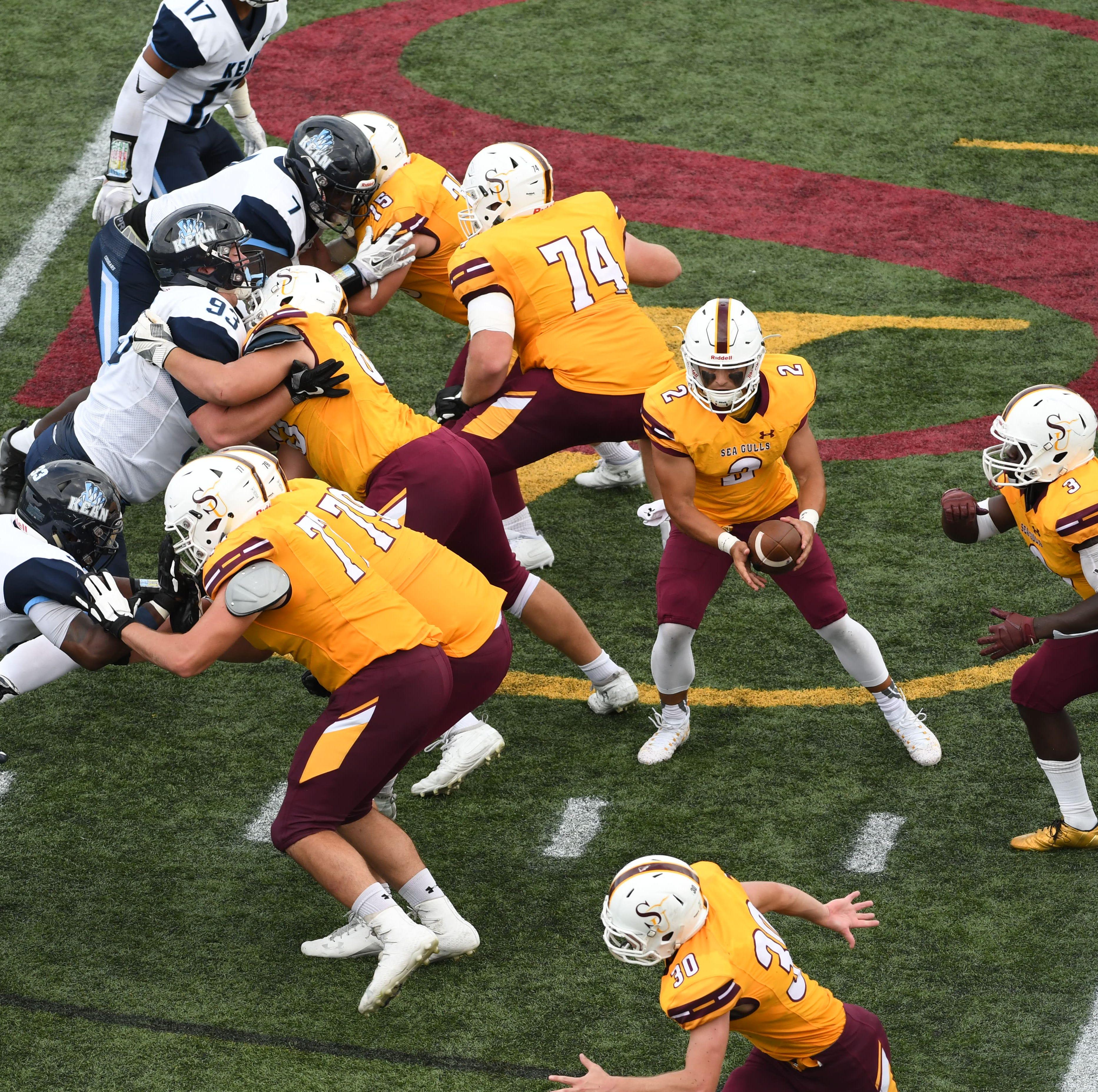 Behind backup quarterback, Salisbury University football stays undefeated with shutout