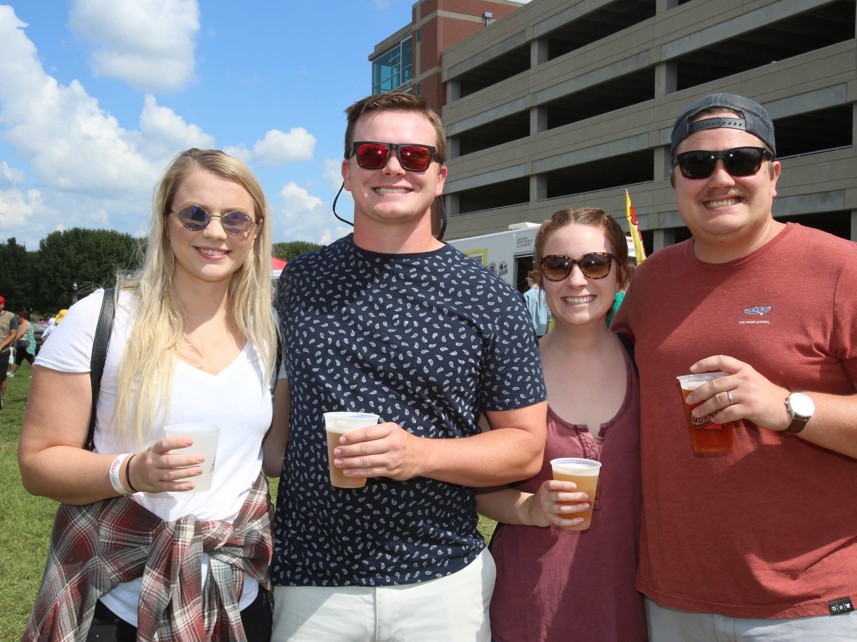 Katy Moore and Mitchell, Anna, and Garrett Capra