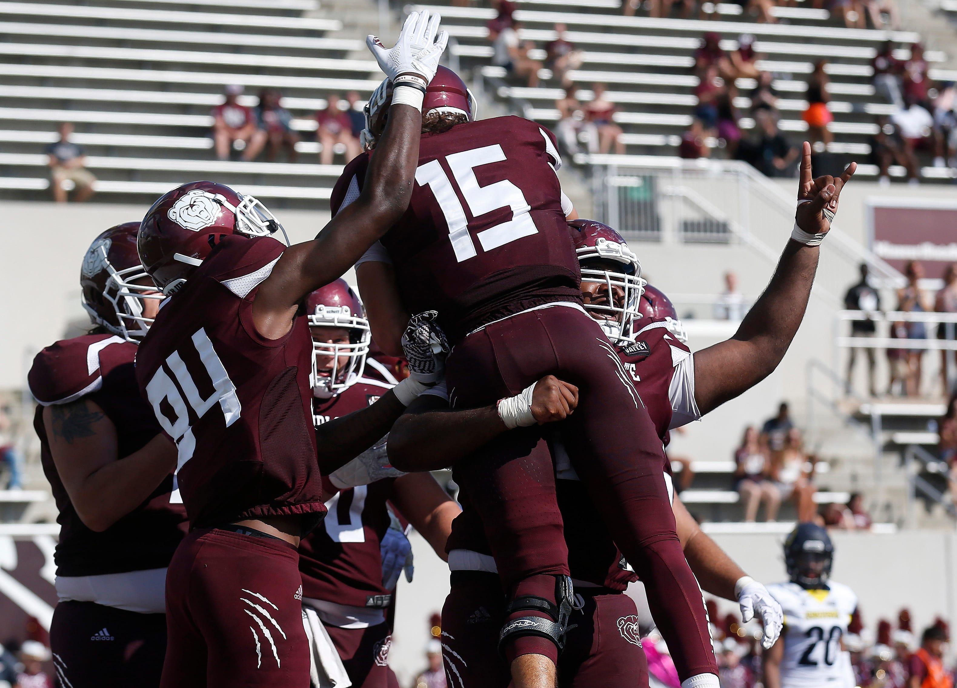Missouri State University defeated Northern Arizona 40-8 at Plaster Stadium on Saturday, Sept. 15, 2018.