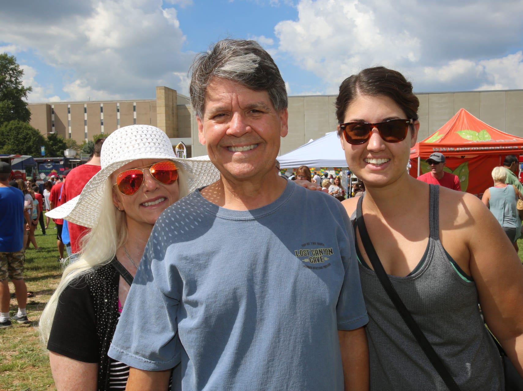 Denise Allsop, Chuck Ball, and Rachel Moore