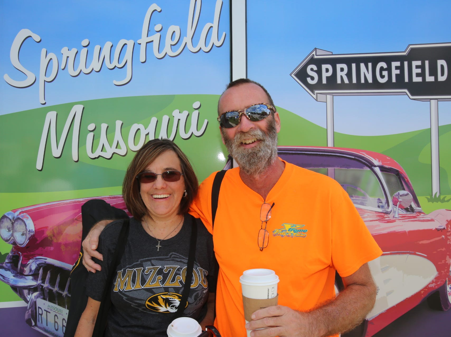 Stephanie Wingate and Jim Scheppers