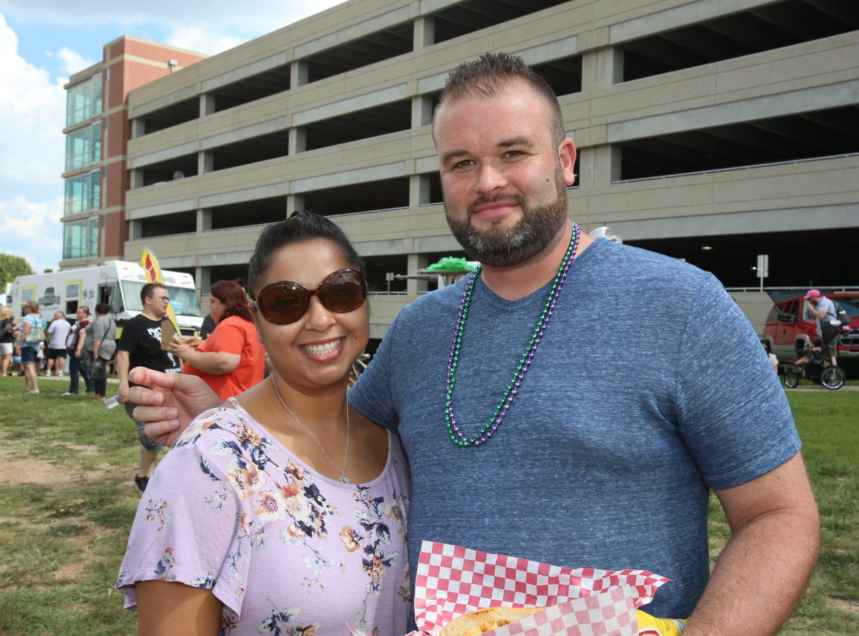 Melissa and Mark Reynolds