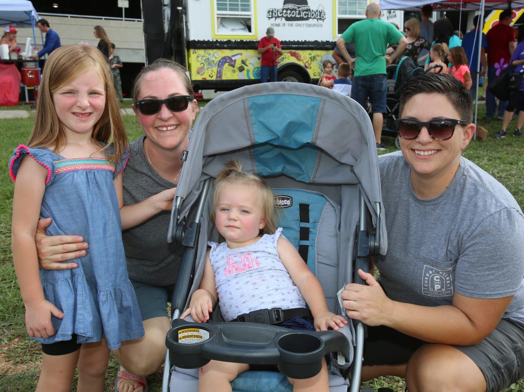 Katie, Casey, Kennedy, and Kaylen