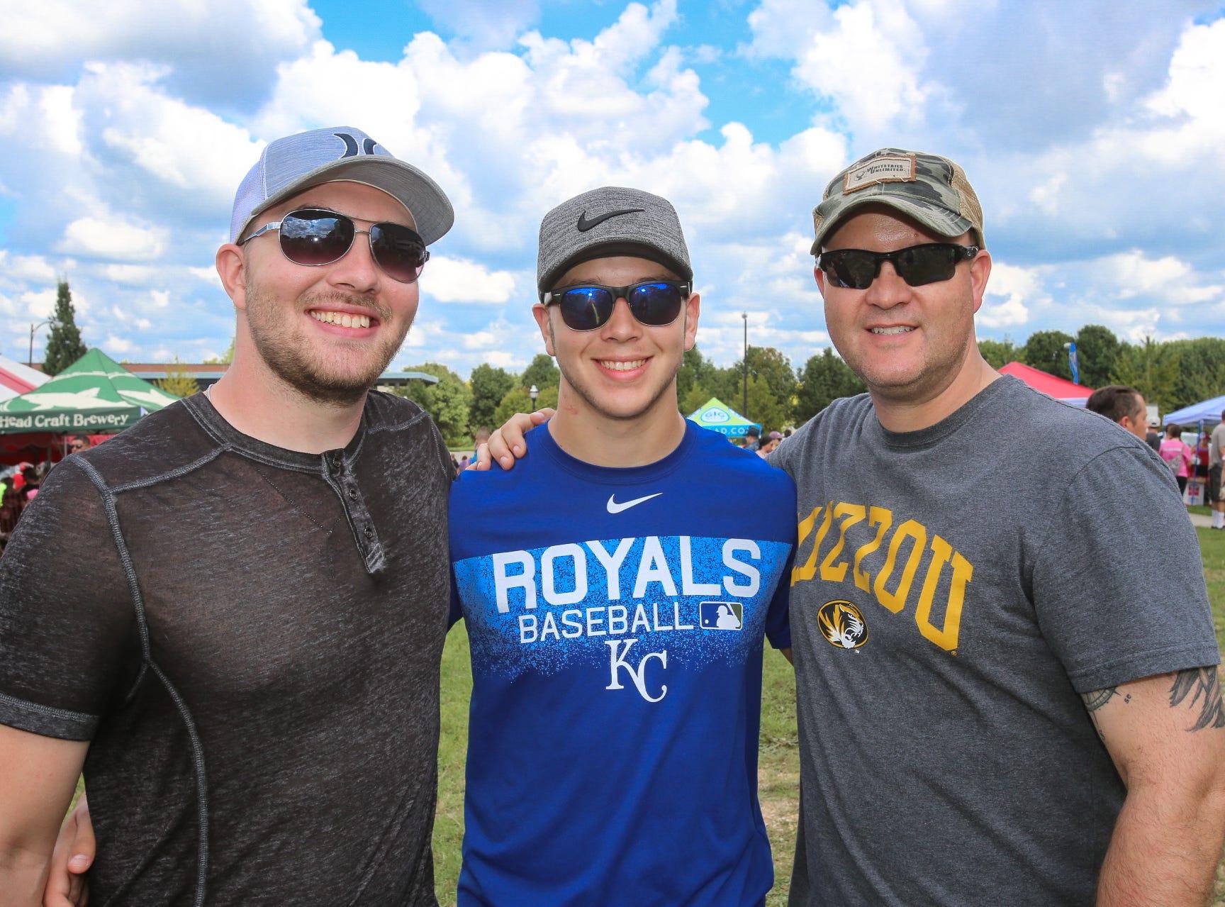 Austin, Ethan, and Travis