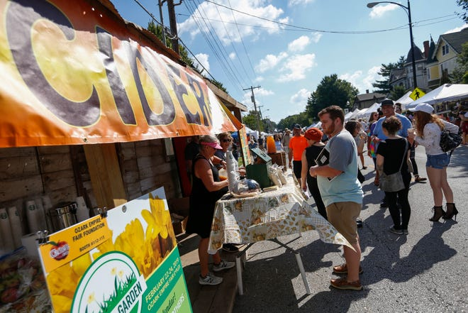 In a typical year, thousands of people descend on historic Walnut Street for Cider Days. Organizers have taken steps to spread out the crowd at this weekend's festival.