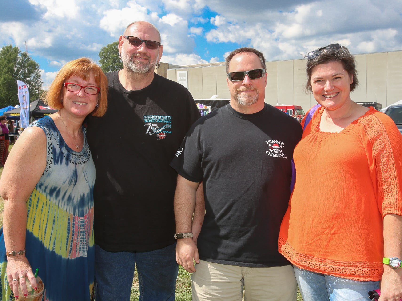 Dana and Jeff Woodworth and John and Laura Siegert