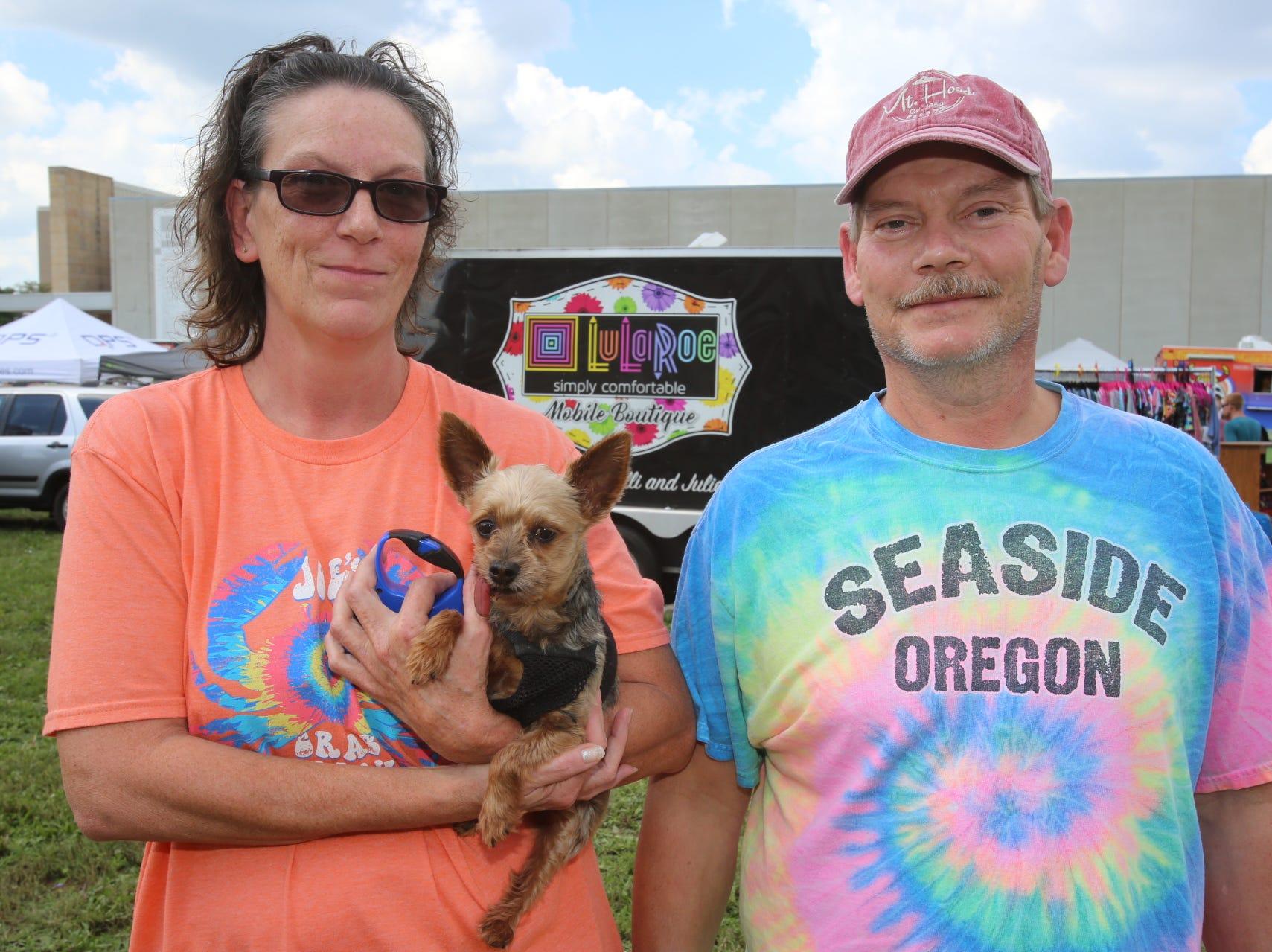 Tammy, Duke, and Greg Streeval