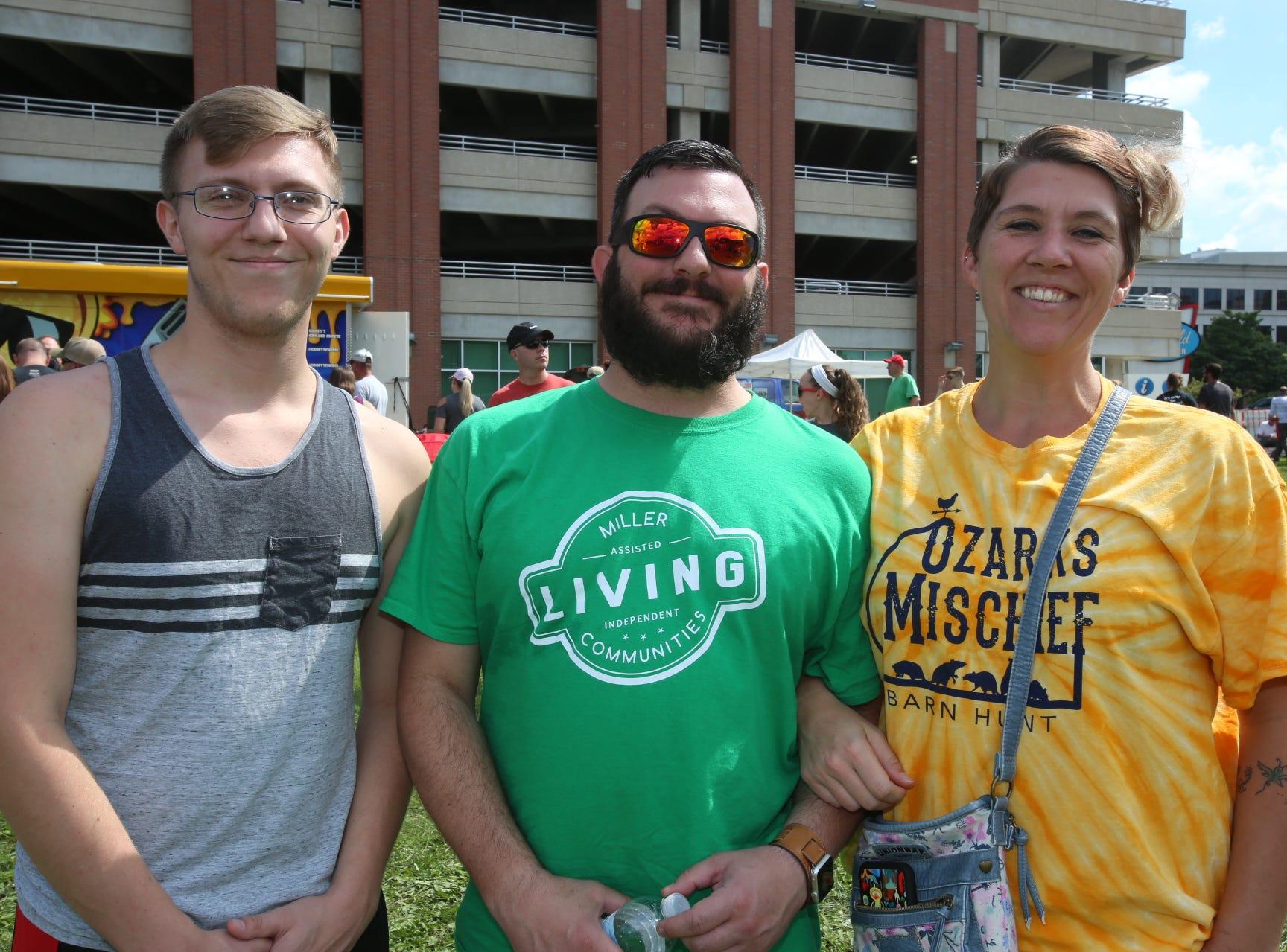 Austyn, Joe, and Heather Ferrier