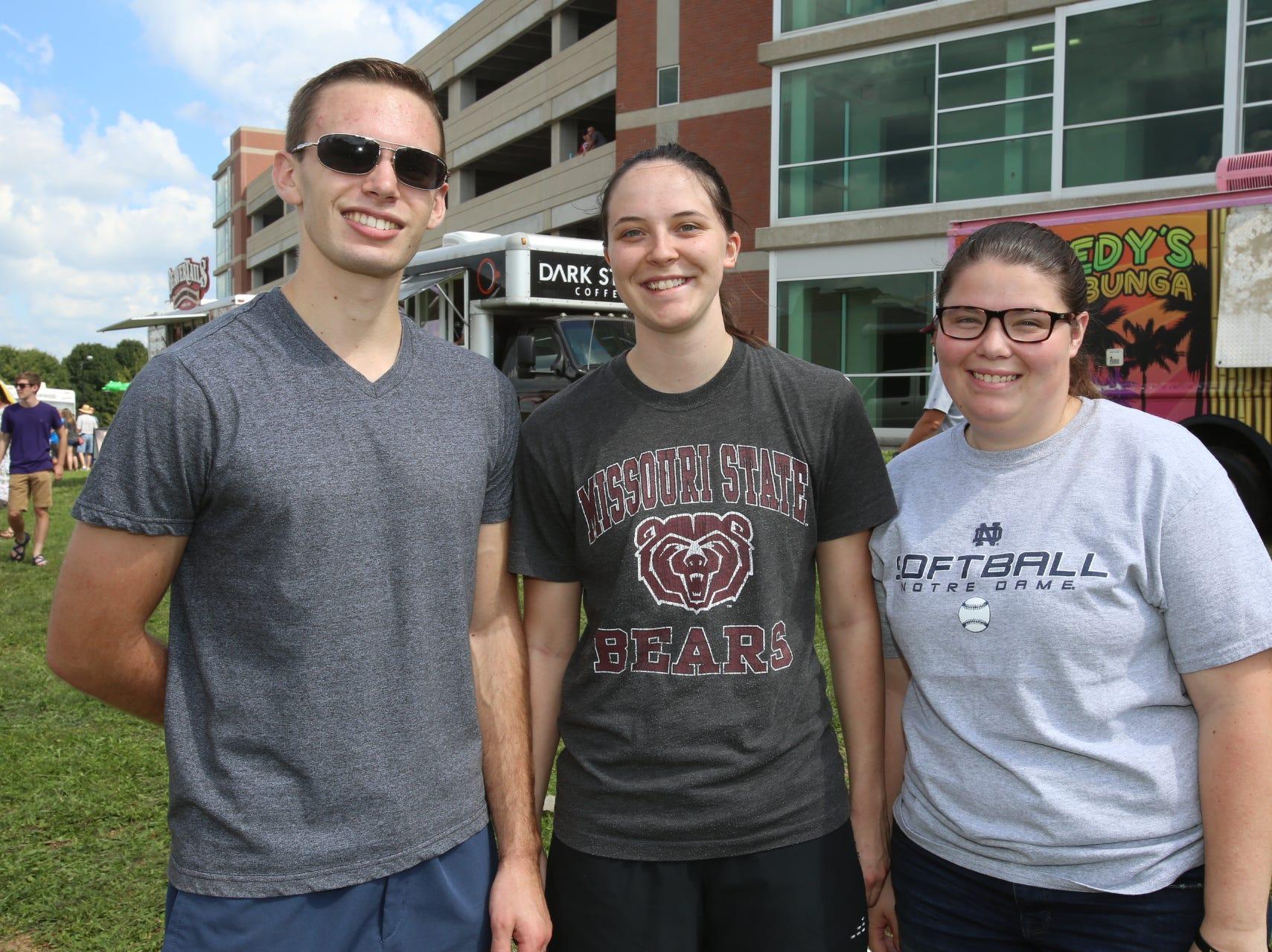 Ben Lyford, Carley Allen, and Kathy Prestwich