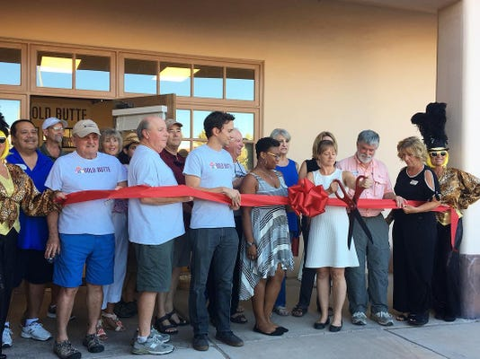 Friends of Gold Butte ribbon cutting 0913