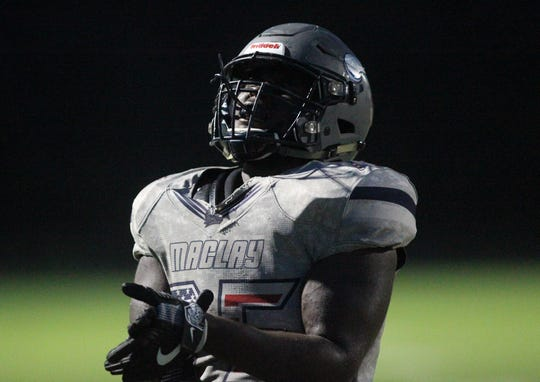 Maclay beat Munroe on Friday, Sept. 14, 2018.
