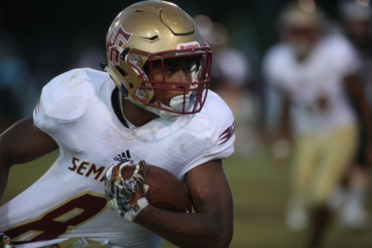 Florida High beat Chiles 28-24 on Friday, Sept. 14, 2018.