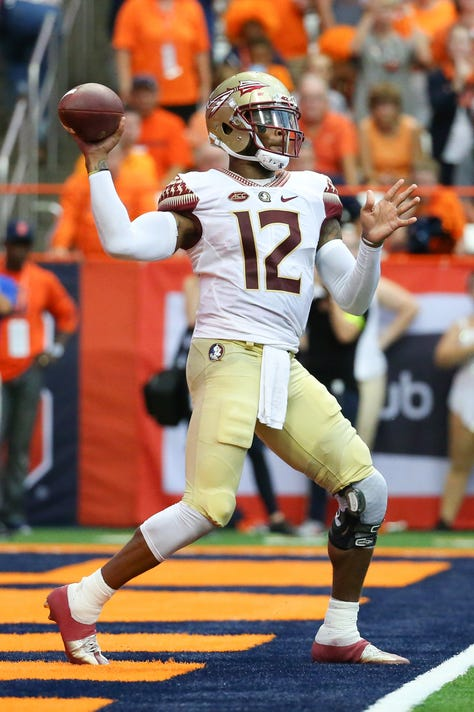 Ncaa Football Florida State At Syracuse