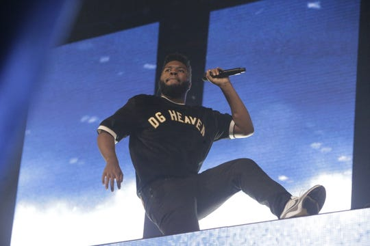 Khalid takes the stage on the first night of his two hometown performances at the Don Haskins Center.