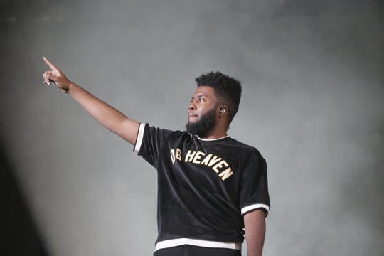 Khalid seems touched by the support he has received from his El Paso fans.