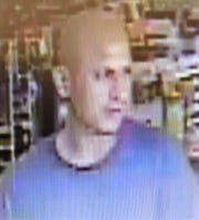 This is the suspect in the May 27, 2018, robbery of the Family Dollar at 2281 N. Zaragoza Road in which phone chargers were stolen and a store employee was threatened.
