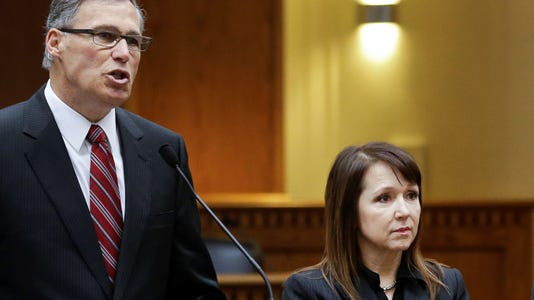 Jay Inslee Marcie Frost