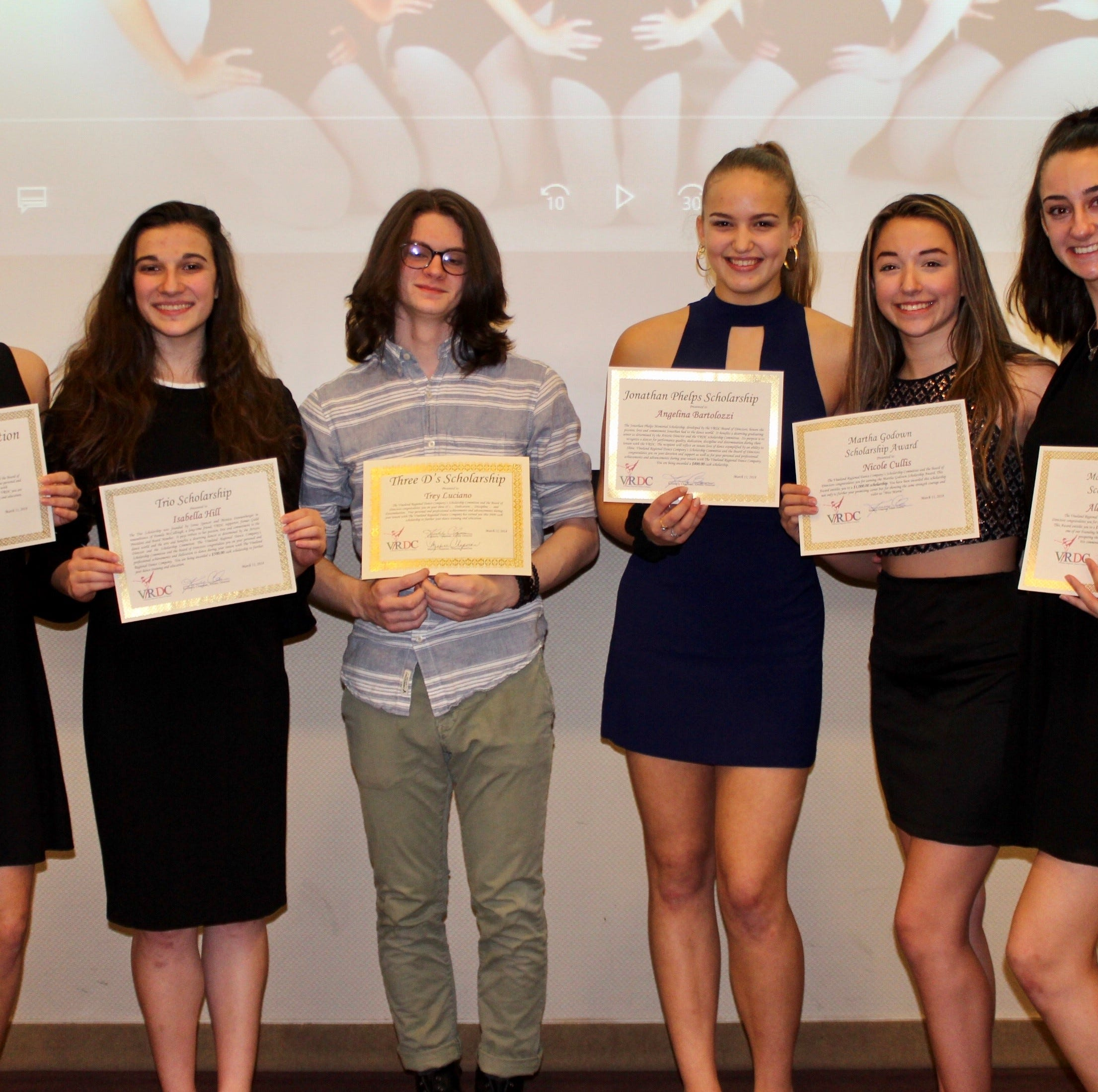 Vineland Regional Dance Company announces scholarship recipients