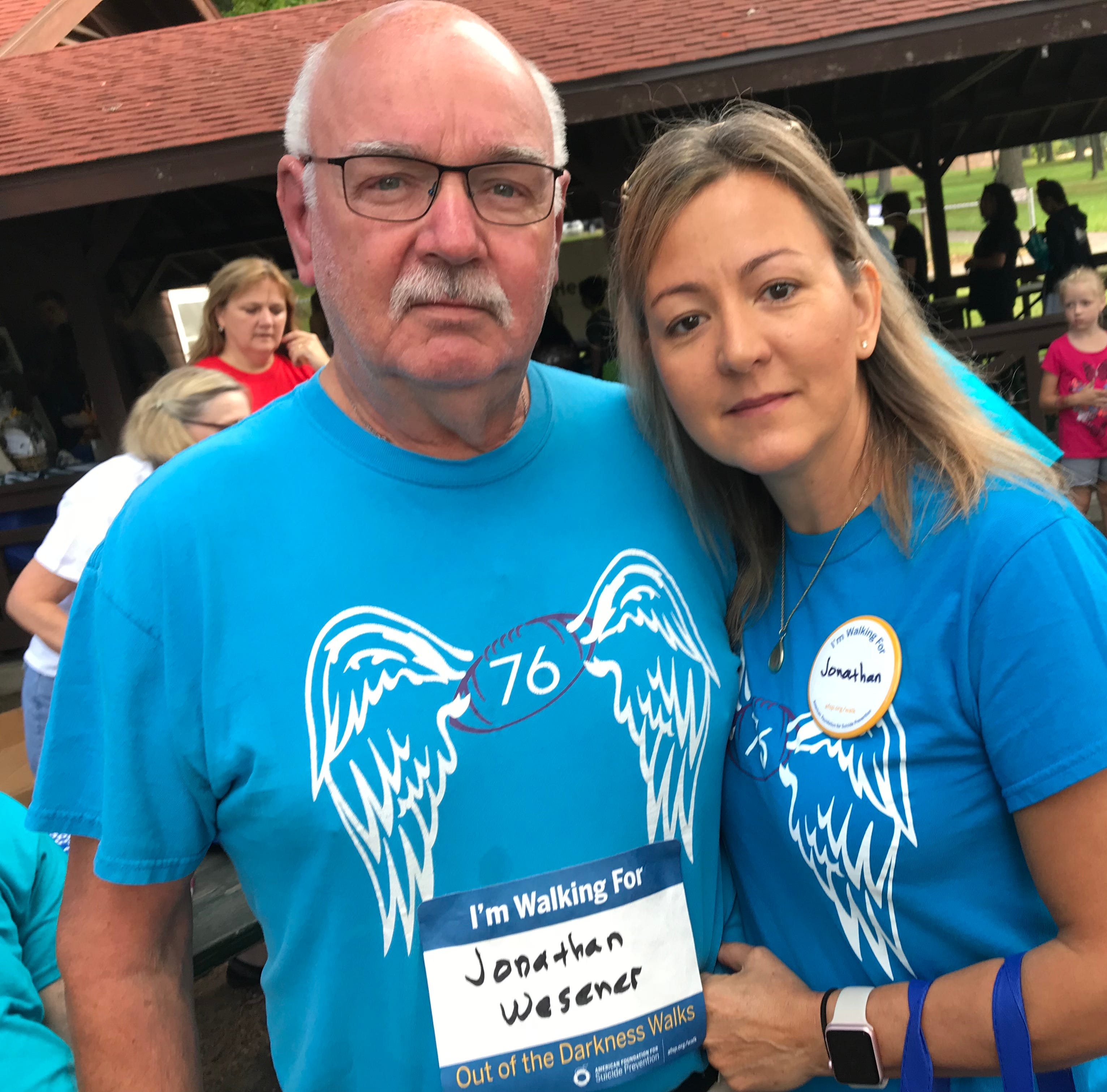 Out of the Darkness suicide prevention walk offers support, understanding and love