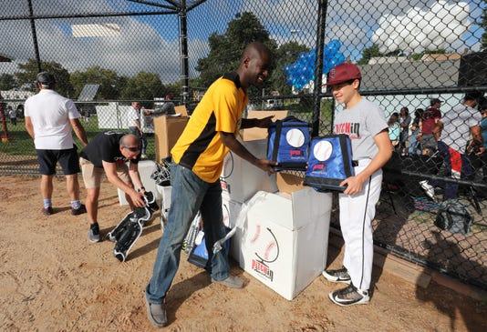 Baseball Gear Donation