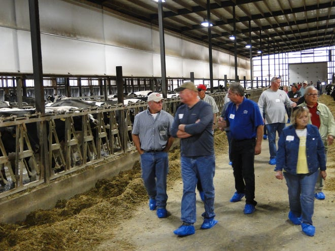 The last of four Agricultural Community Engagement meetings brought nearly 200 people to Double S Dairy at Markesan last month.