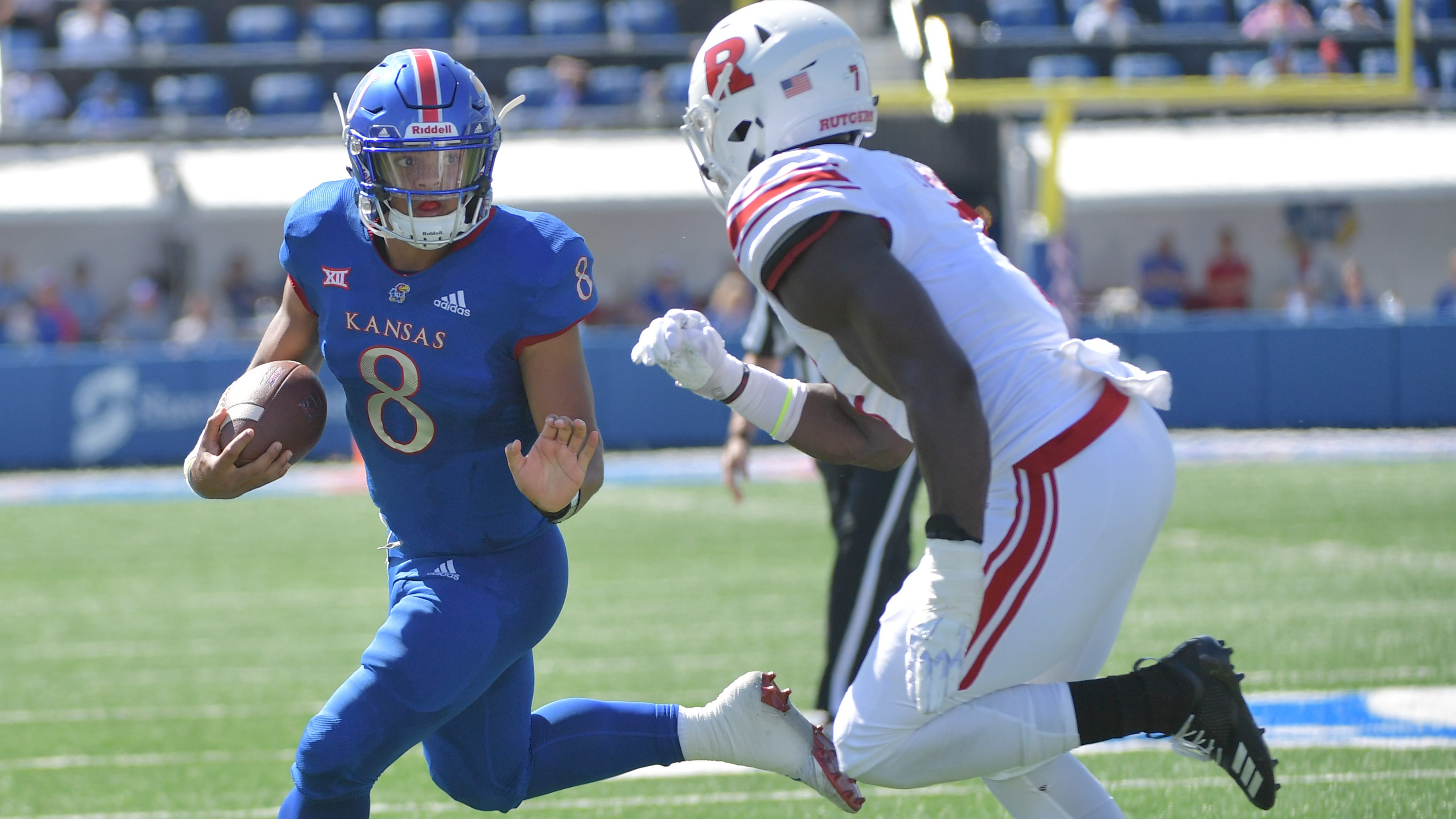 Break up Kansas after back-to-back wins against FBS opponents for first time this decade