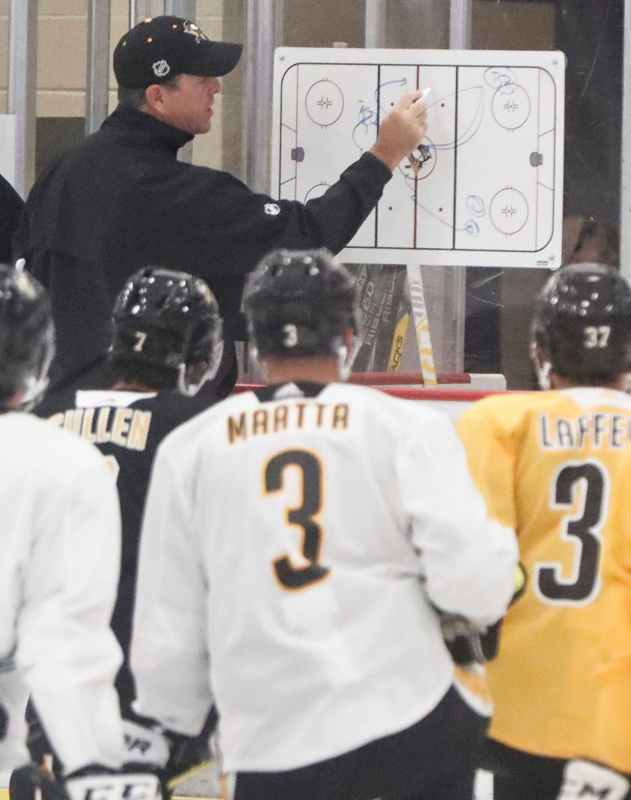 Penguins coach Mike Sullivan takes leave of absence after father's death