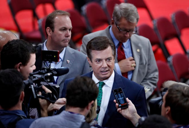 Paul Manafort at the Republican National Convention, July 16, 2016, Cleveland, Ohio.