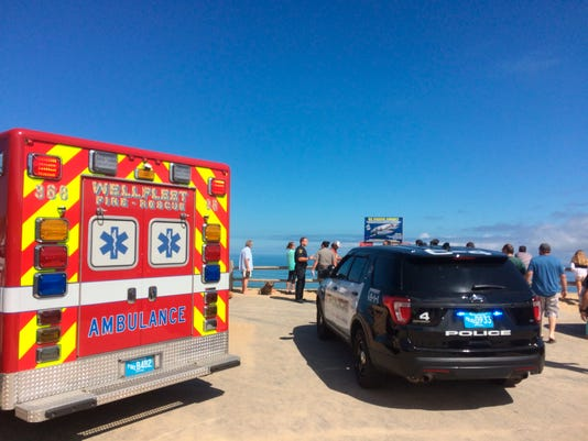 Suspected shark attack kills man in his 20s near Cape Cod, police say