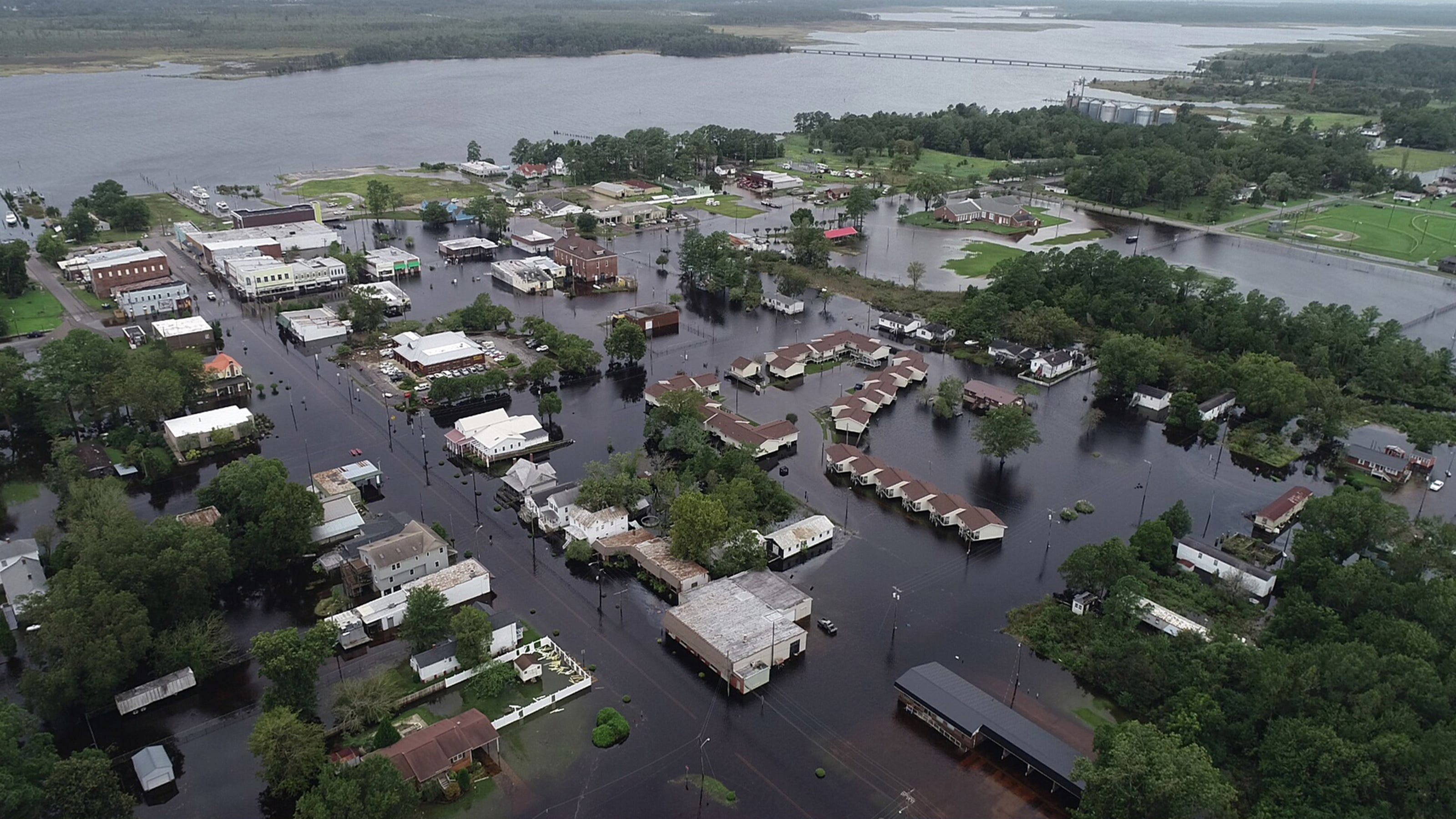 Florence Leaves North Carolina Town Under Water
