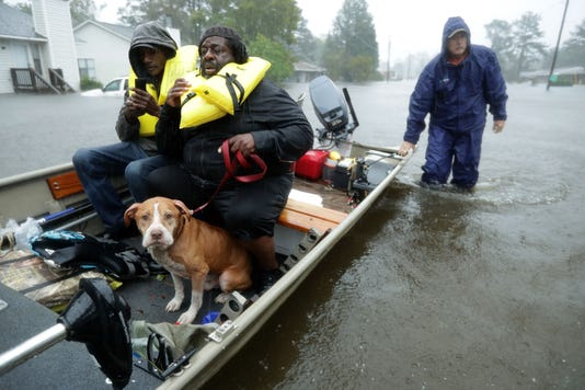 Hurricane Florence Rescue Efforts