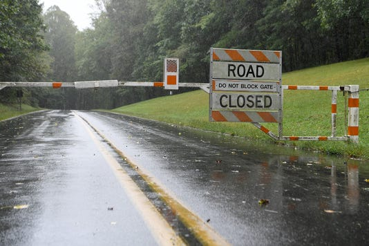 Blue Ridge Parkway mostly closed in WNC due to dangerous road conditions