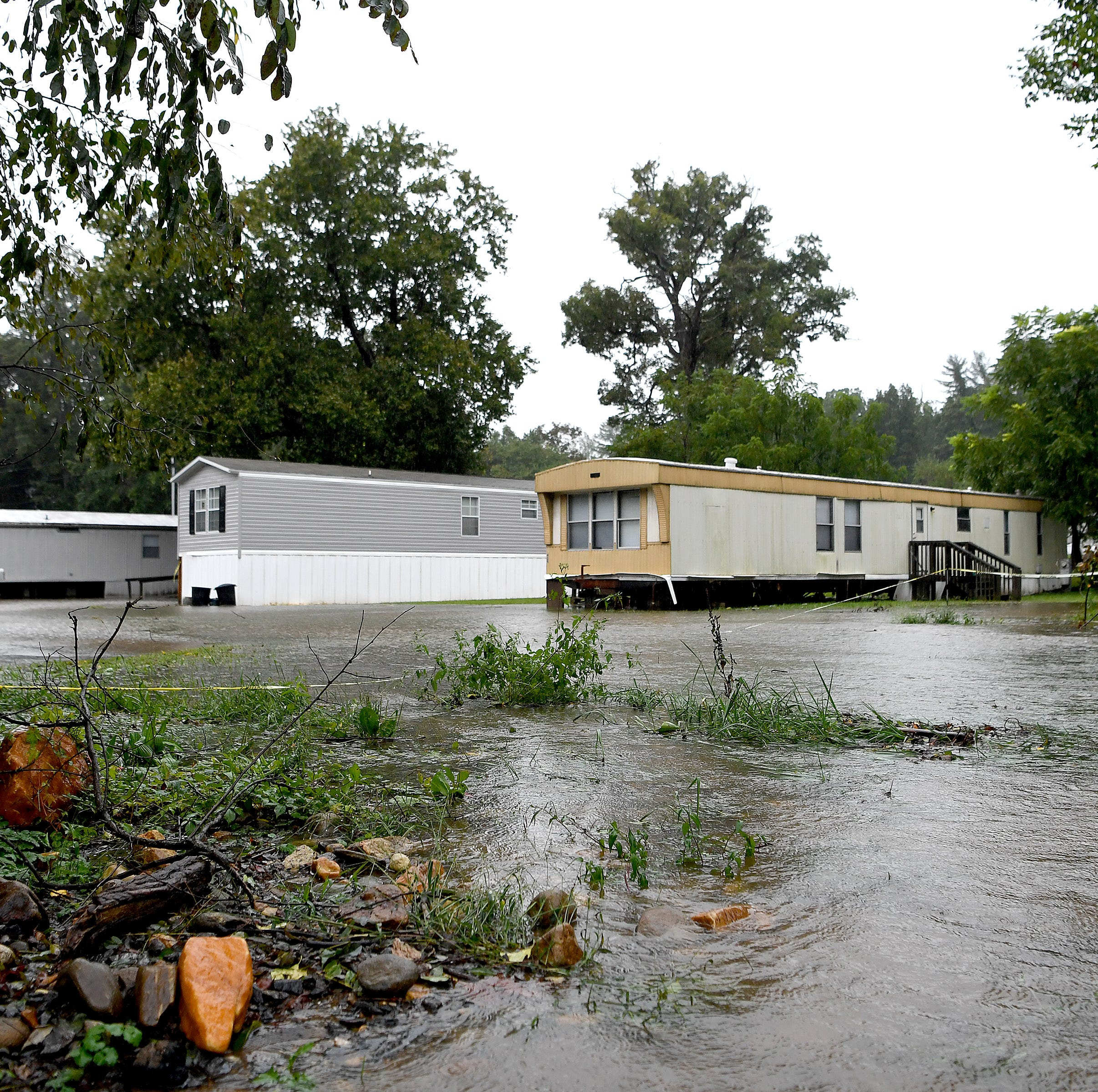 Biltmore Village, most of WNC spared by Florence, but Yancey sees some problems