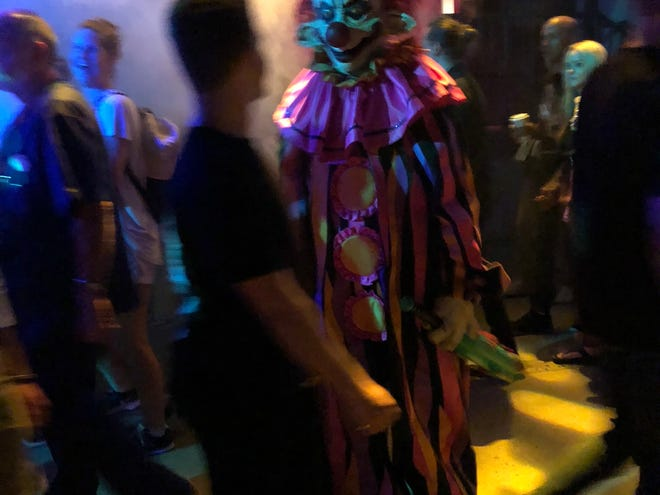Prepare to come face to face with Killer Klowns at the Land of Illusion Haunted Scream Park in Middletown.