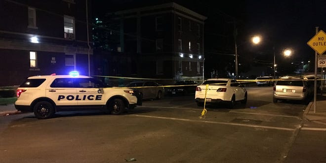 Cincinnati police officers are investigating a shooting in Avondale Saturday evening.