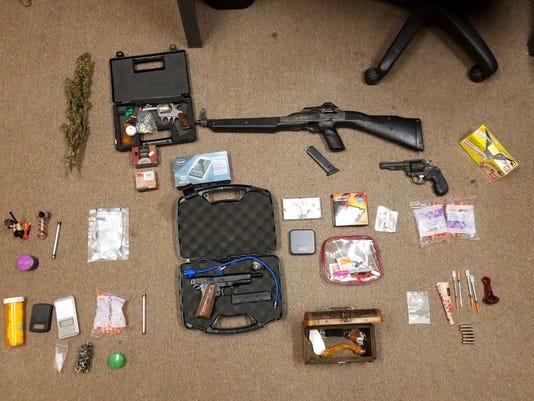 Pendleton County Search Warrant