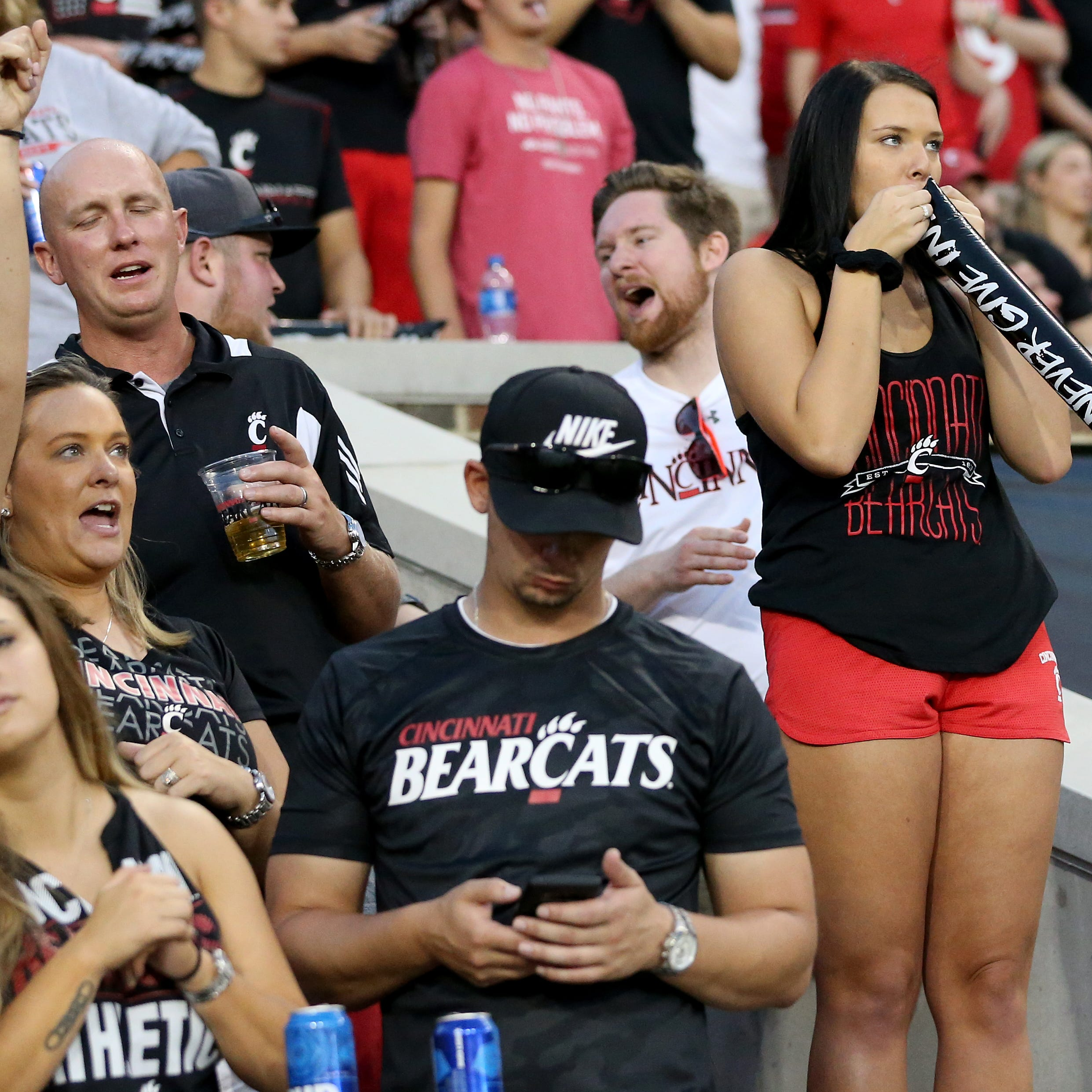 Cincinnati Bearcats on top of ESPN's College Football Fan Happiness Index again