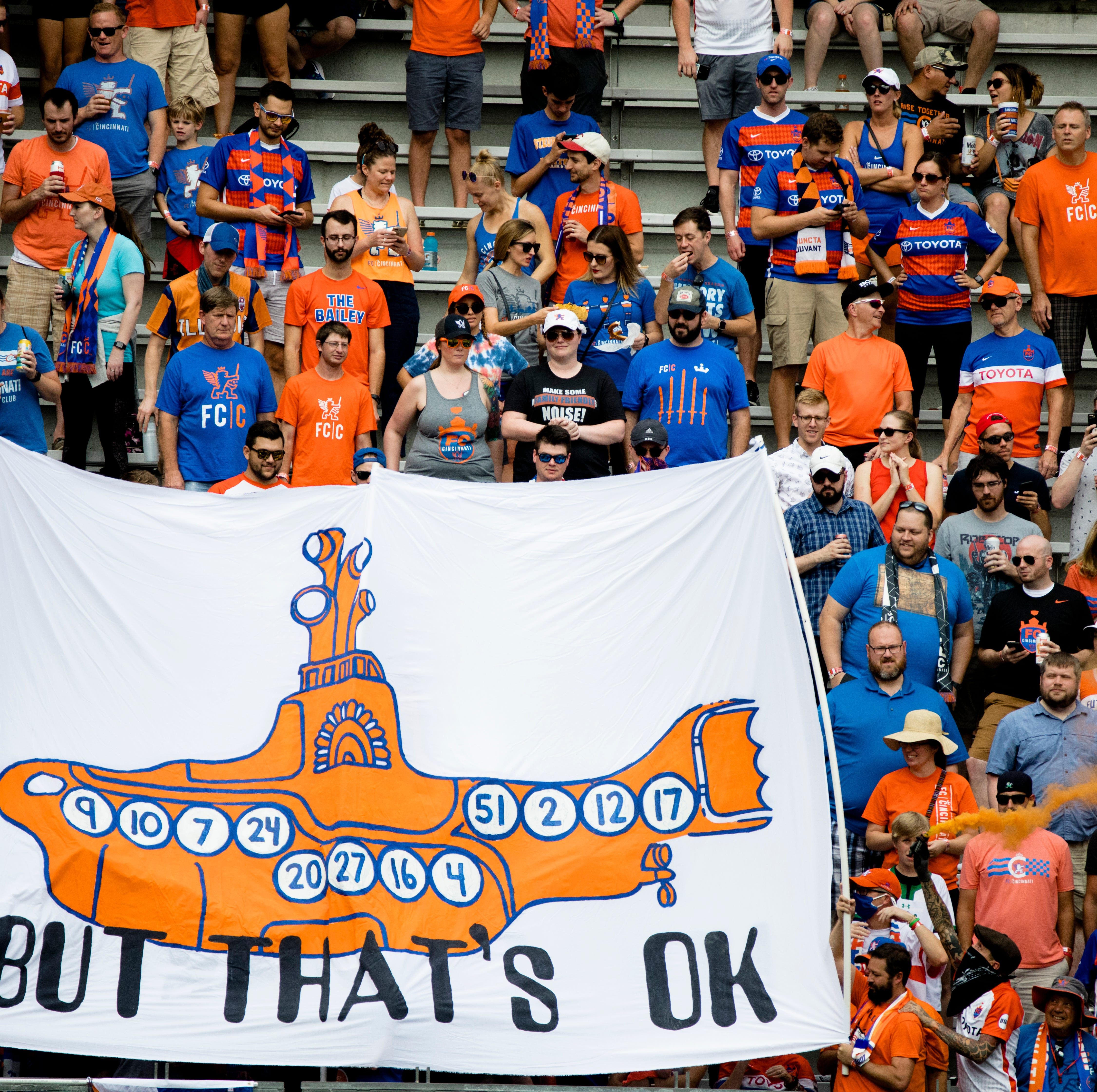 FC Cincinnati targeting 20,000-plus season tickets for 2019 MLS season, 28,000 total attendance per game