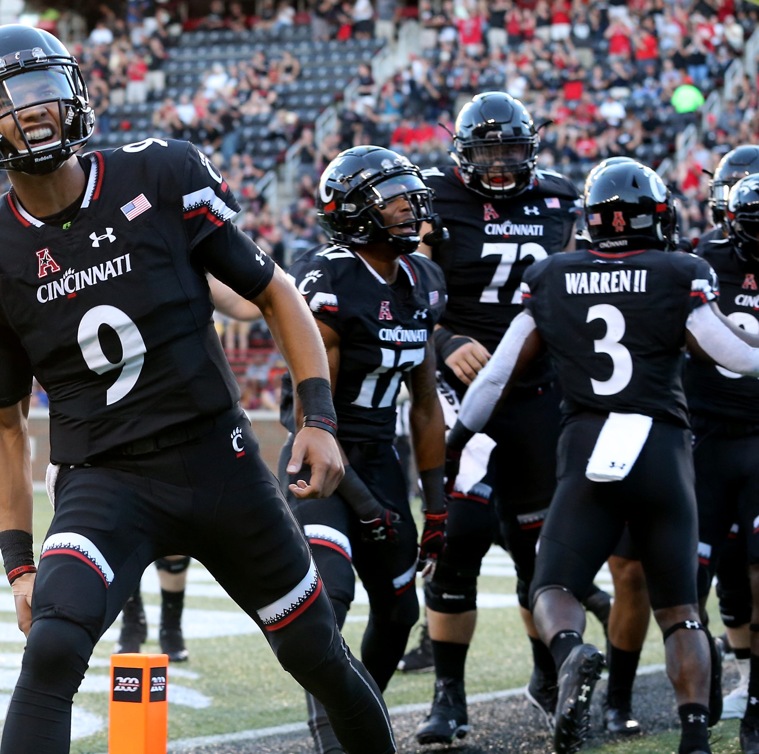 University of Cincinnati Bearcats football team moves up in weekly AAC power rankings