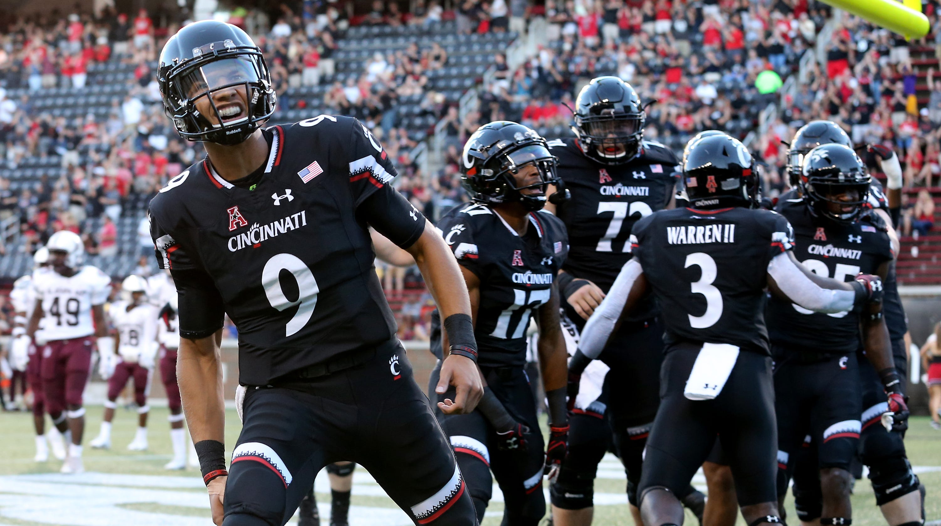 UC Bearcats football team moves up in weekly AAC power ...