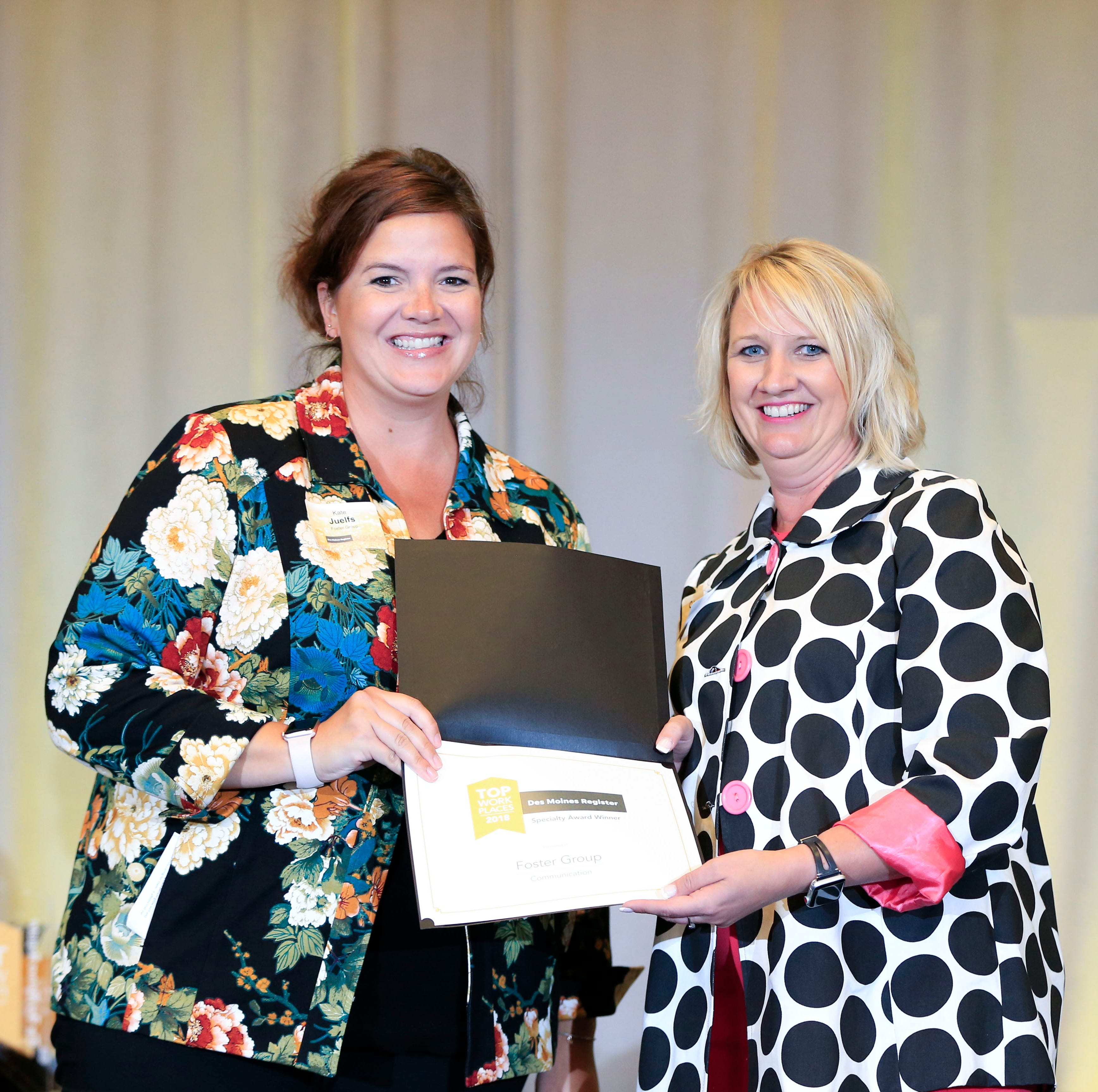 Top Workplaces: Iowa employees honor leaders, managers