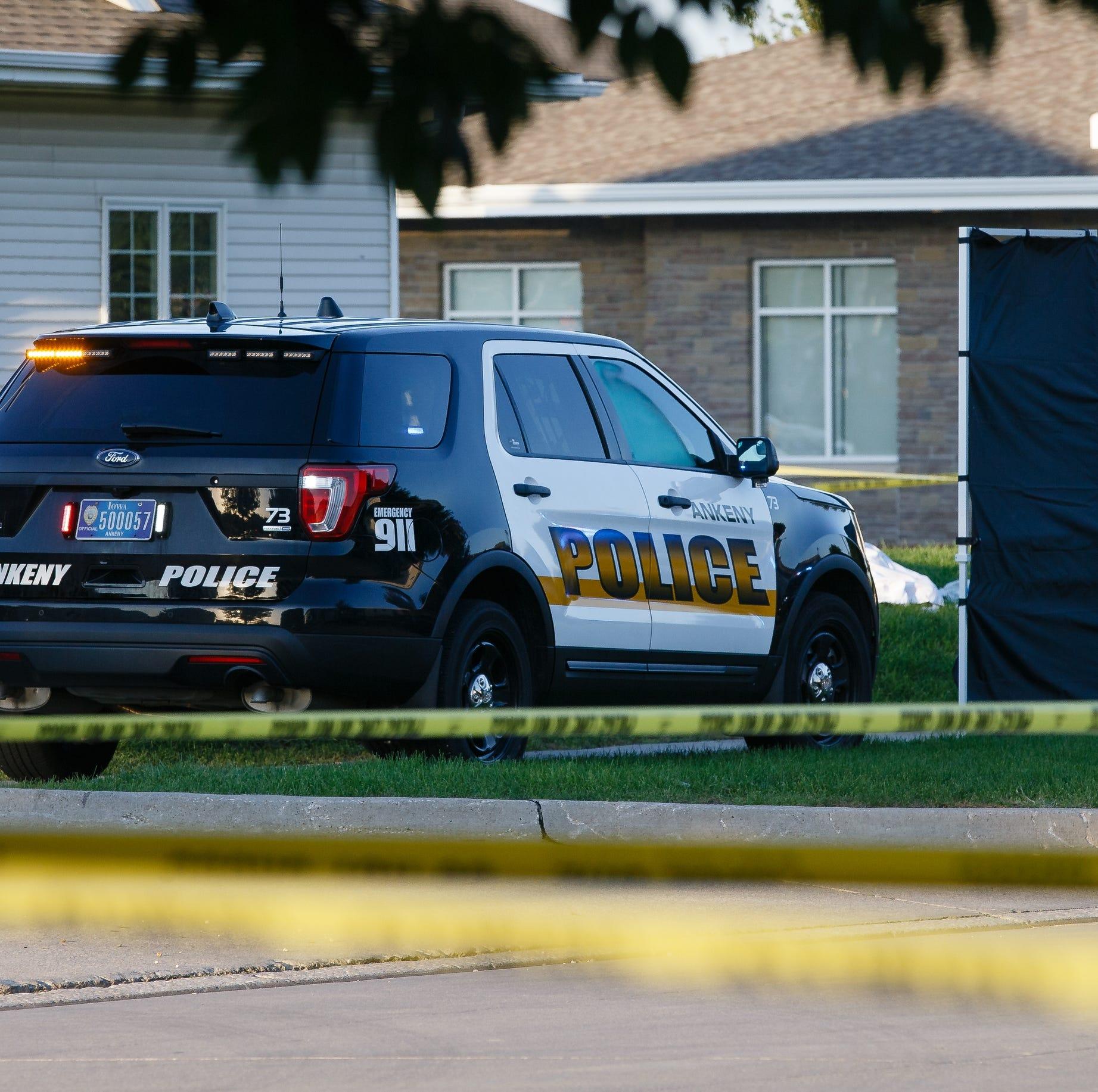 Ankeny police identify man fatally shot by officer Saturday