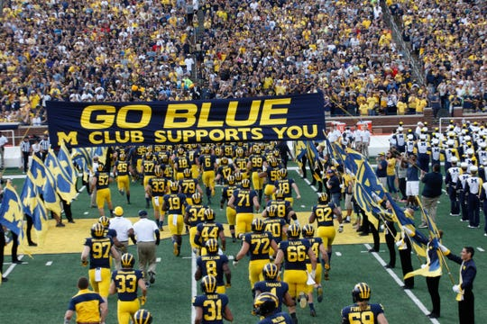 Michigan welcomes Wisconsin to the Big House on Saturday night.