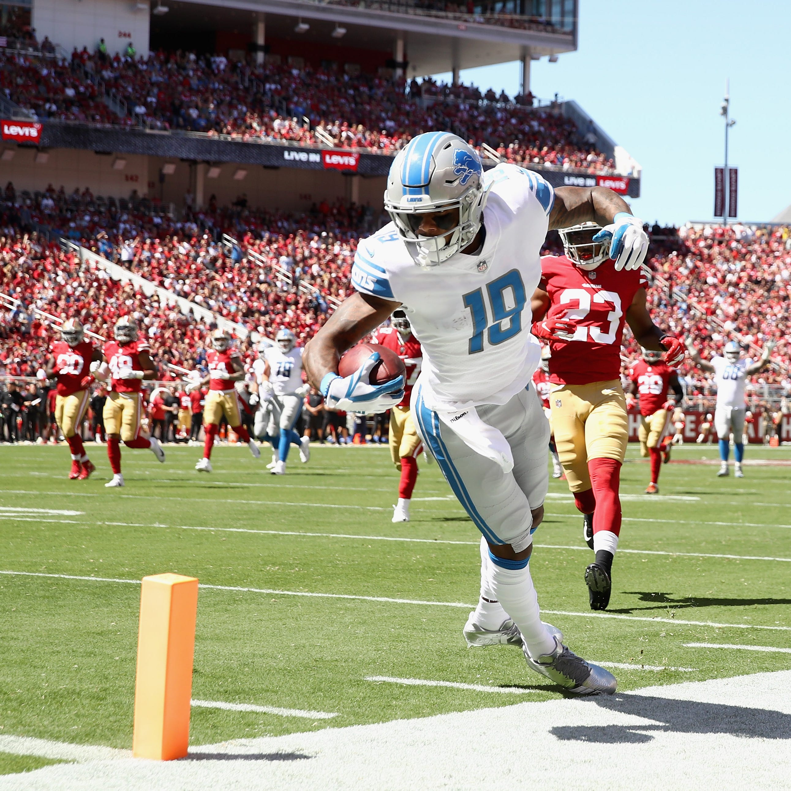 Detroit Lions stock watch: Kenny Golladay stars, Taylor Decker down