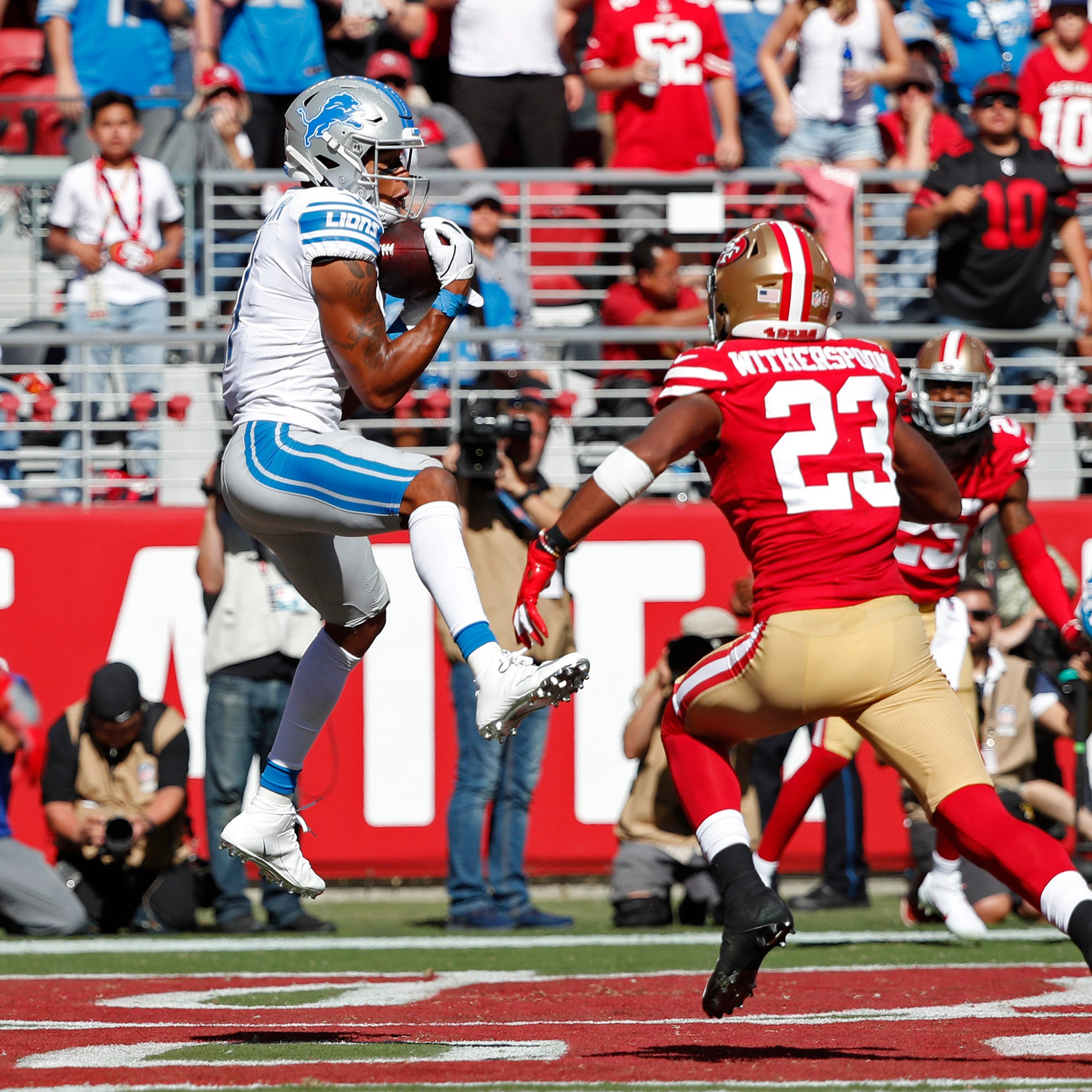 San Francisco 49ers 30, Detroit Lions 27: Photos from the game