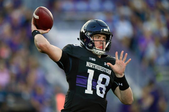 10. Northwestern (1-2)   Last game: Lost to Akron, 39-34   Previous ranking: 9