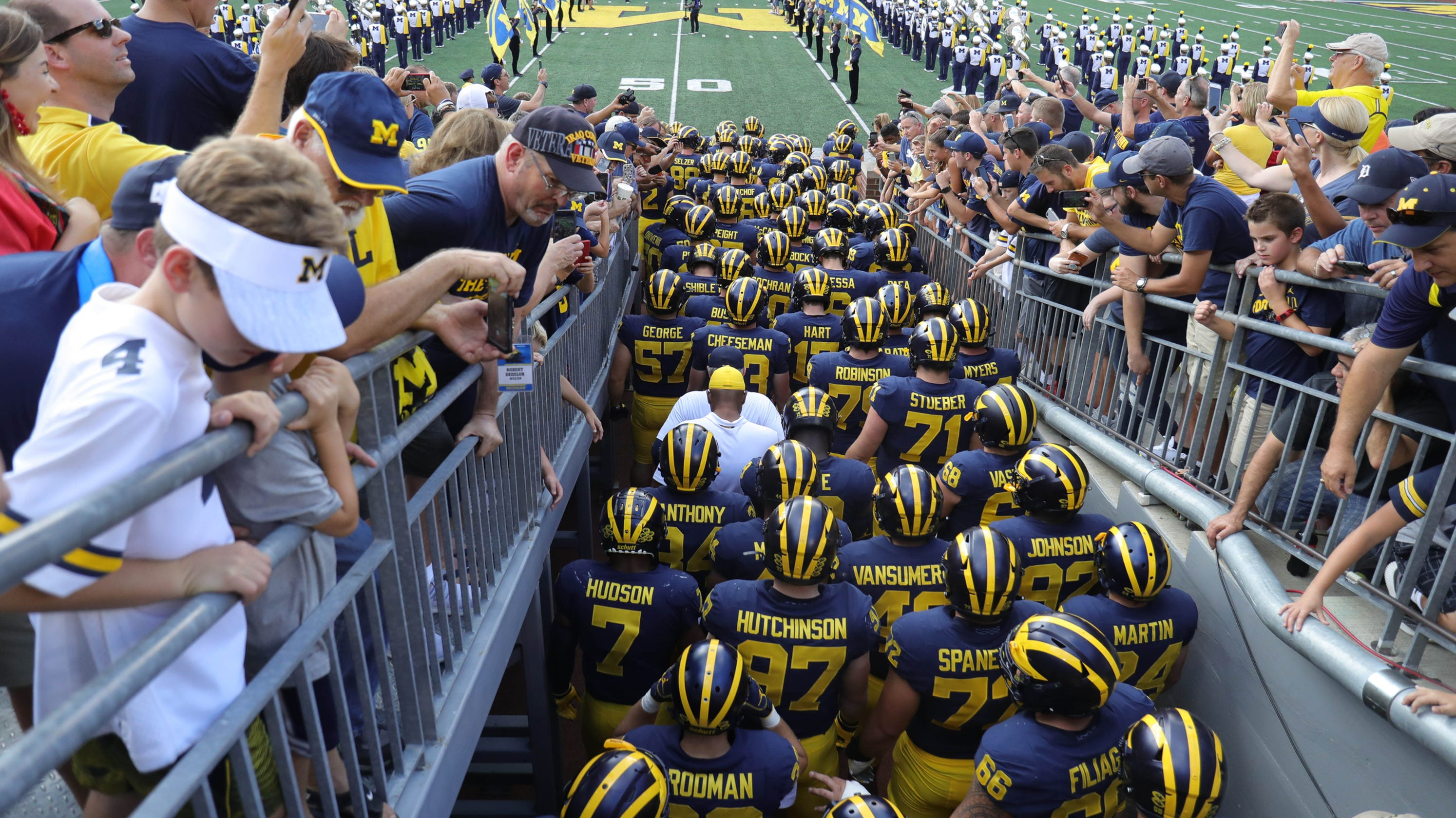 Michigan Wolverines football schedule 2019